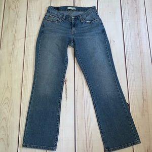 529 Levi's Curvy Boot Cut Jeans